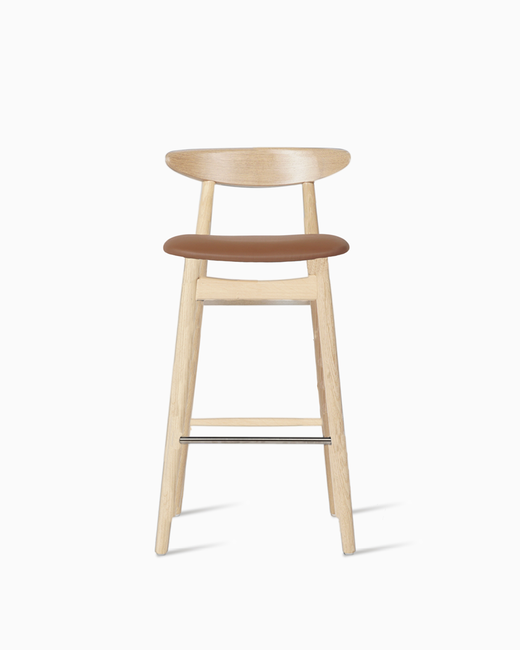 Vincent-Sheppard-Teo-counter-stool-natural-solid-oak-upholstered