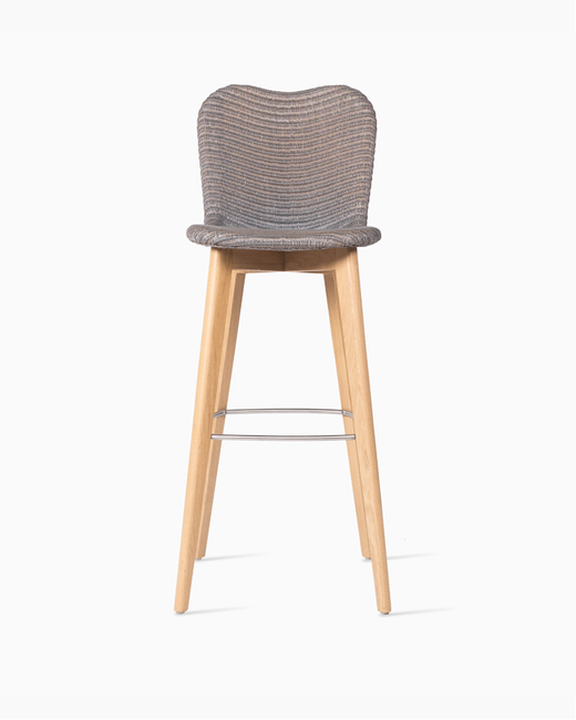 Vincent-Sheppard-Lily-bar-stool-Lloyd-loom-wicker-solid-oak-base