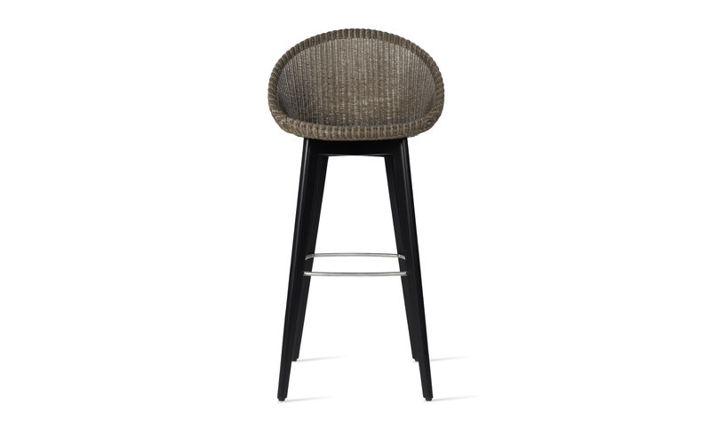 Terrific Joe Bar Stool Black Wood Base Vincent Sheppard Pabps2019 Chair Design Images Pabps2019Com
