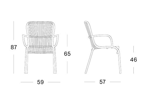 Loop dining chair