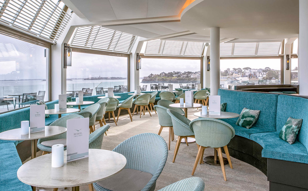 Joe dining chairs @ Thalassa Dinard