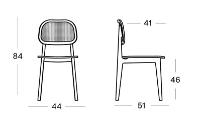 Titus dining chair