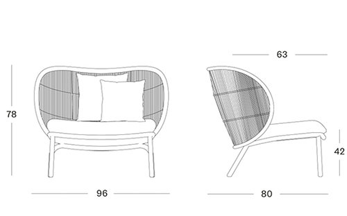 Kodo lounge chair