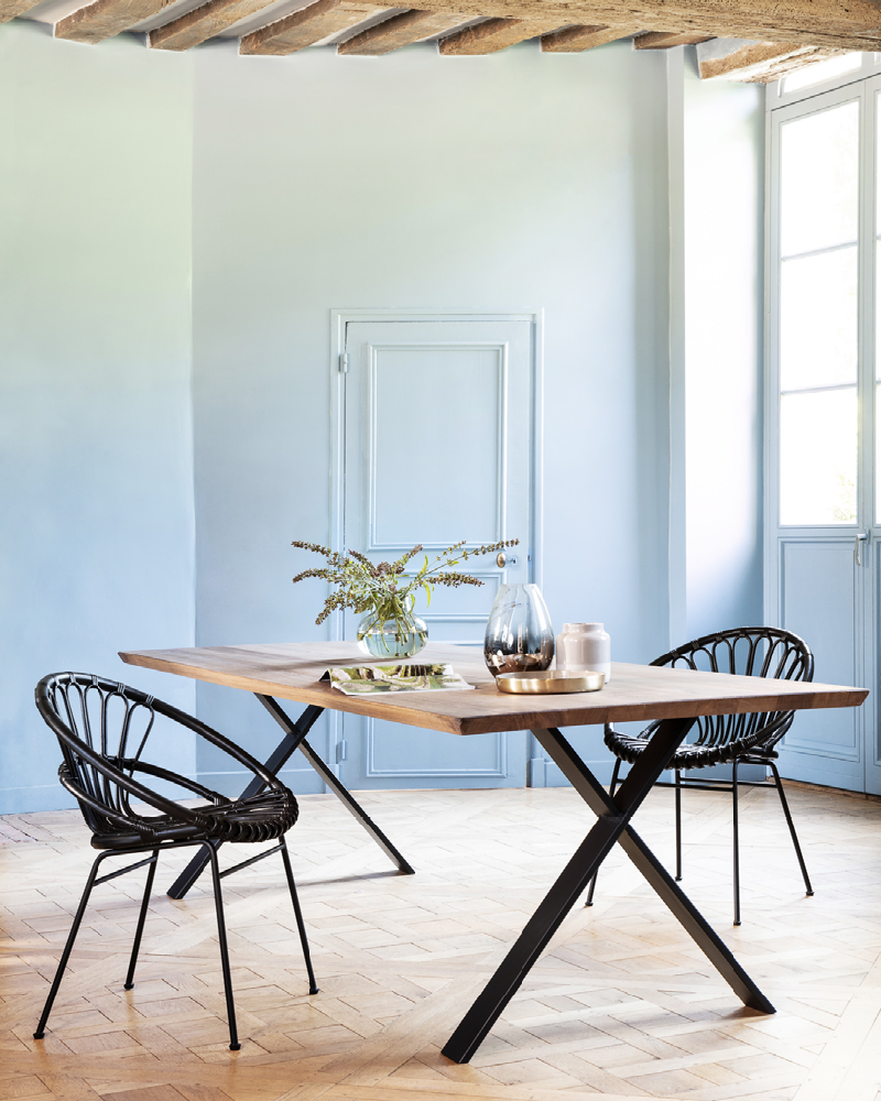 Vincent-Sheppard-Kiki-dining-chair-Albert-dining-table-X-base