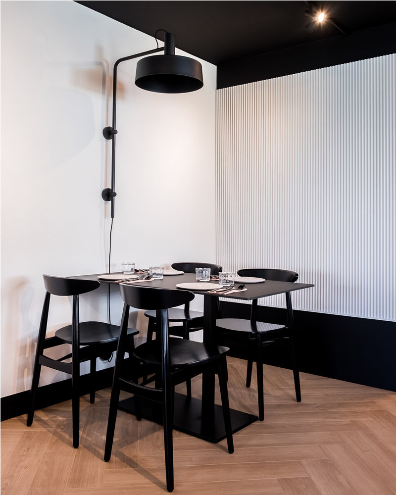 Teo dining chair at Enso boutique hotel