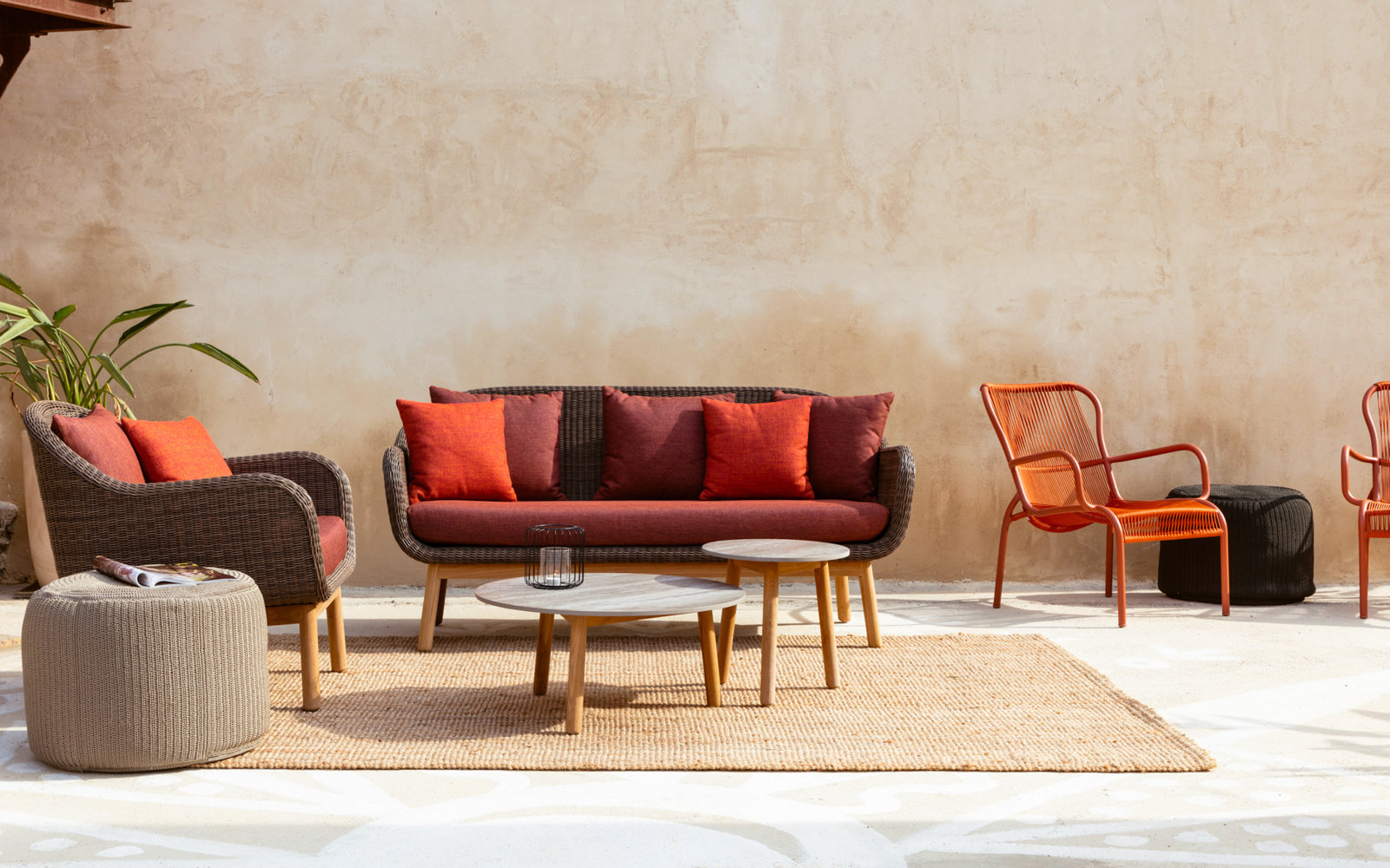 Anton collection, Otto und Loop lounge chair
